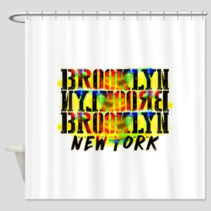 BROOKLYN, NEW YORK! Shower Curtain