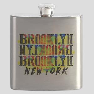 BROOKLYN, NEW YORK! Flask