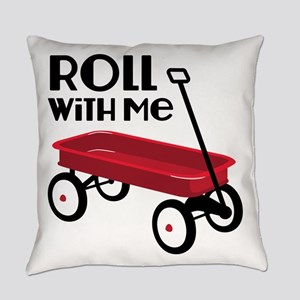 ROLL WiTH Me Everyday Pillow