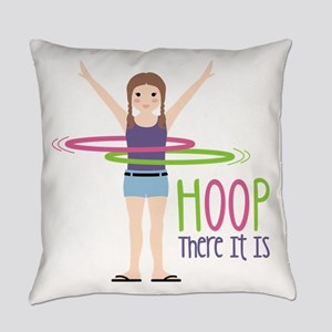 HOOP There It Is Everyday Pillow