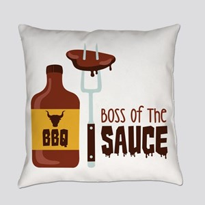 BOSS OF THE SAUCE Everyday Pillow