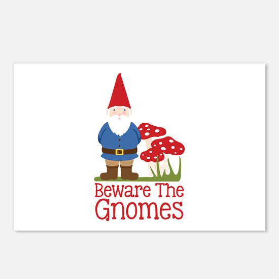 Beware the Gnome Postcards (Package of 8)