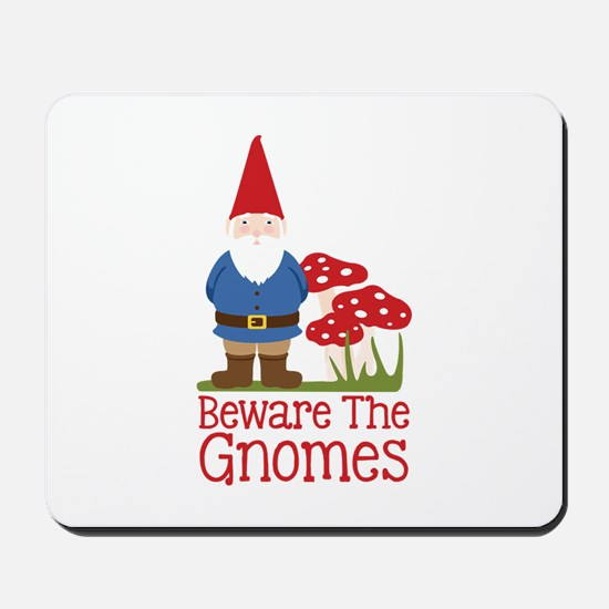 Beware the Gnome Mousepad