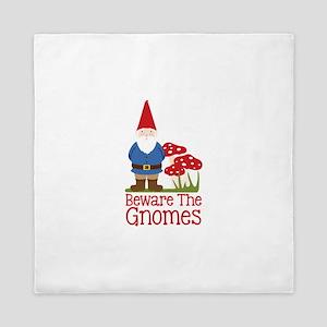 Beware the Gnome Queen Duvet