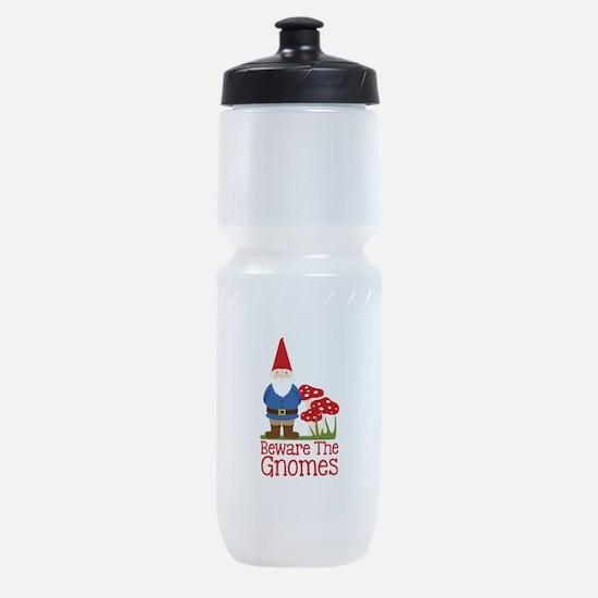 Beware the Gnome Sports Bottle