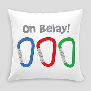 On Belay! Everyday Pillow