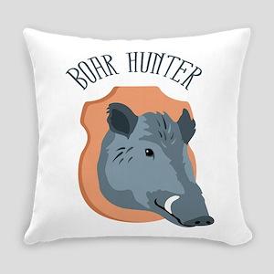BOAR HUNTER Everyday Pillow