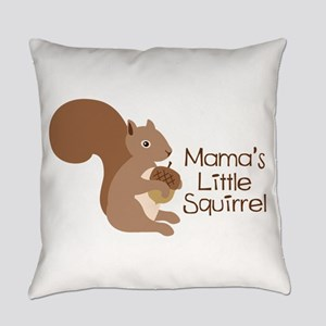 Mamas Little Squirrel Everyday Pillow