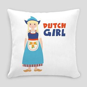 DUTCH GIRL Everyday Pillow
