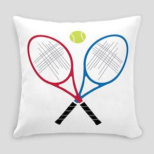 Tennis Rackets Everyday Pillow