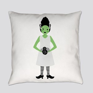 Monster Bride Everyday Pillow