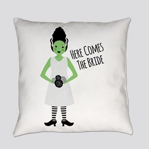 Here Comes The Bride Everyday Pillow