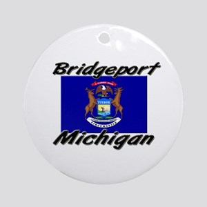 Bridgeport Michigan Ornament (Round)