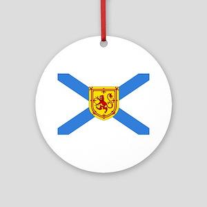Nova Scotia Round Ornament