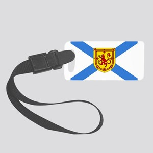 Nova Scotia Small Luggage Tag