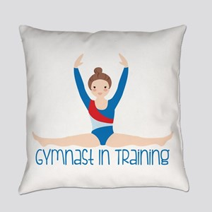 Gymnastics Training Everyday Pillow