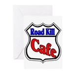 Road Kill Cafe Greeting Cards (Pk of 10)