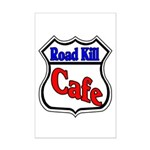Road Kill Cafe Mini Poster Print