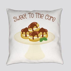 Sweet To The Core Everyday Pillow
