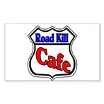 Road Kill Cafe Rectangle Sticker