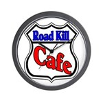 Road Kill Cafe Wall Clock