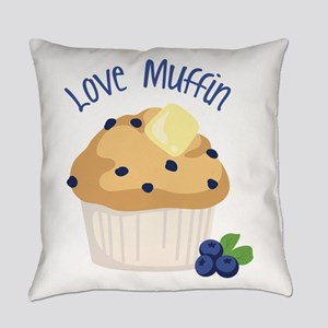 Love Muffin Everyday Pillow