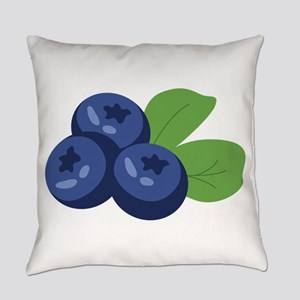 Blueberry Everyday Pillow