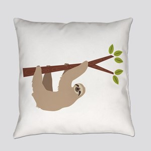 Sloth Everyday Pillow