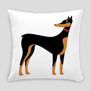 Doberman Everyday Pillow