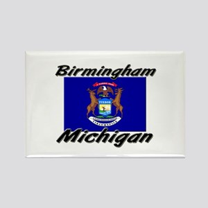 Birmingham Michigan Rectangle Magnet