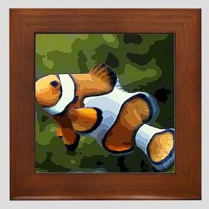 ClownFish20151011 Framed Tile