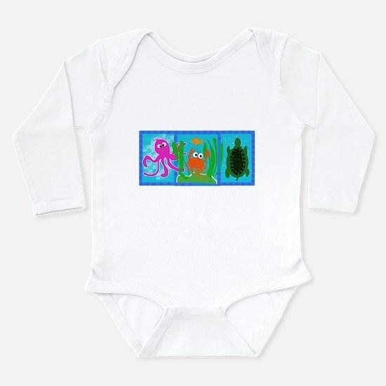 Undersea Adventure Infant Creeper Body Suit