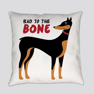 Bad To The Bone Everyday Pillow
