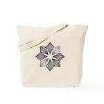 Asexual Pride Starburst Tote Bag