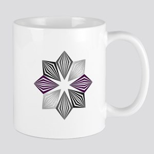 Asexual Pride Starburst Mugs