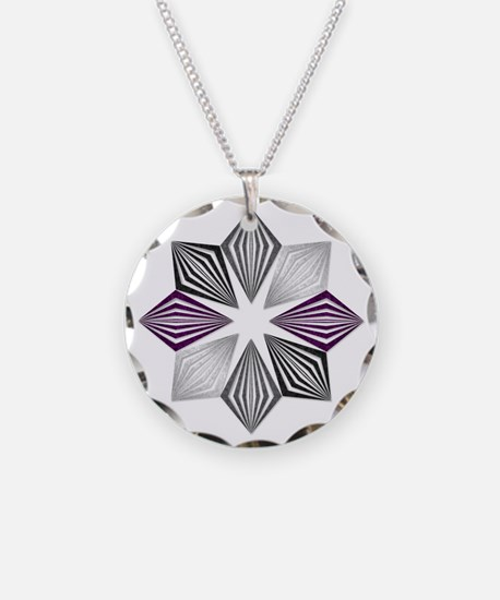 Asexual Pride Starburst Necklace