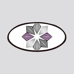 Asexual Pride Starburst Patch