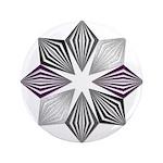 Asexual Pride Starburst Button