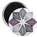 Asexual Pride Starburst Magnets