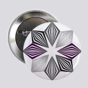 "Asexual Pride Starburst 2.25"" Button (10 pack)"