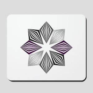 Asexual Pride Starburst Mousepad