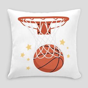 BASKETBALL HOOP Everyday Pillow