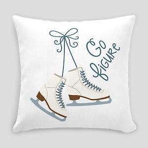 Go Figure Everyday Pillow