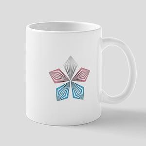 Transgender Pride Starburst Mugs
