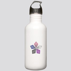 Gender Fluid Pride Starburst Water Bottle