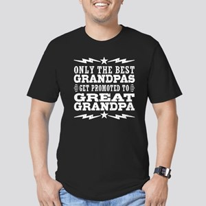 Funny Great Grandpa Men's Fitted T-Shirt (dark)