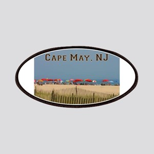 Cape May, NJ Beach Scene Patch