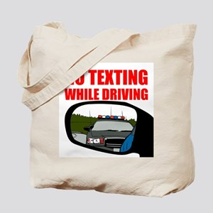 No Texting While Driving Tote Bag