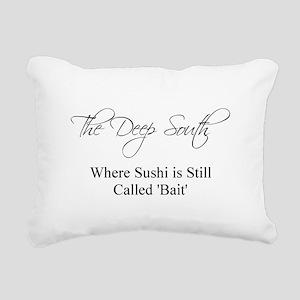 The Deep South Rectangular Canvas Pillow