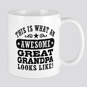 Awesome Great Grandpa Mug